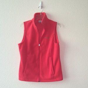 Columbia Fleece Vest Size Medium